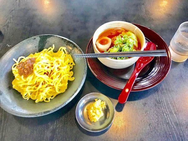 「味噌つけ麺」@ハルピン味噌らーめん 雷蔵の写真