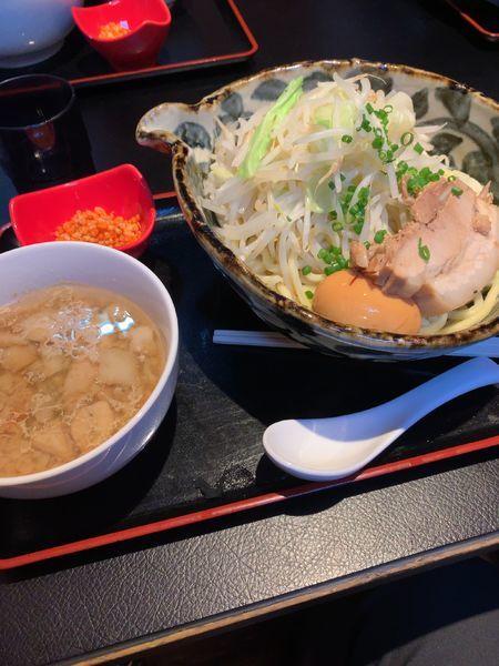 「ロクスイつけ麺」@鹿粋軒の写真