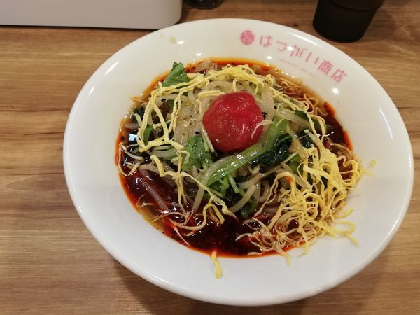 「冷製トマトの酸辣湯麺  (限定)」@はつがい商店の写真