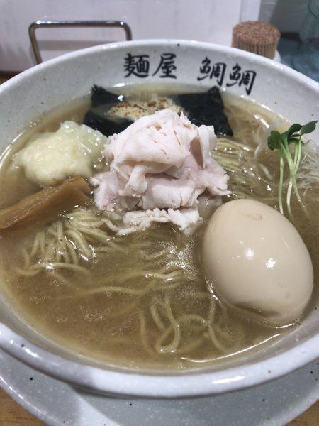 「真鯛醤油ラーメン」@麺屋 鯛鯛の写真