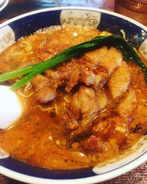 「ぱあこうだんだん麺」@支那麺 はしご 銀座四丁目店の写真