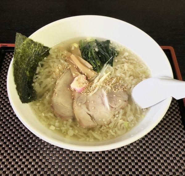「塩ら〜麺」@手打中華もめんの写真
