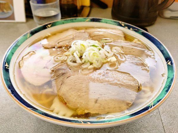 「ハーフ&ハーフ」@佐野らーめん 麺龍の写真