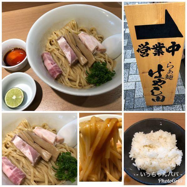 「まぜそば〜三段仕込み〜 800円 ライス150円」@らぁ麺 はやし田 新宿本店の写真