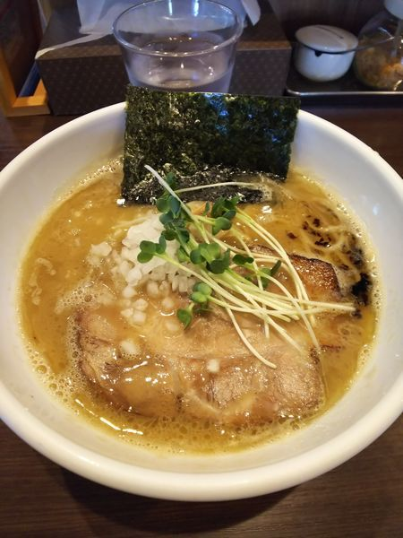 「濃厚中華そば&餃子セット」@自家製麺 まかないへきるの写真