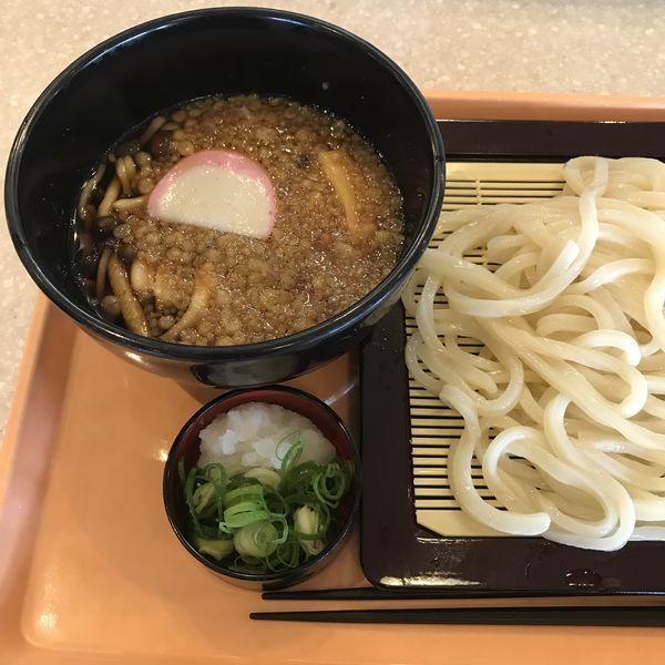 「きのこつけ汁うどん(¥890)」@京うどん 夢吟坊 品川キッチンフードコートの写真