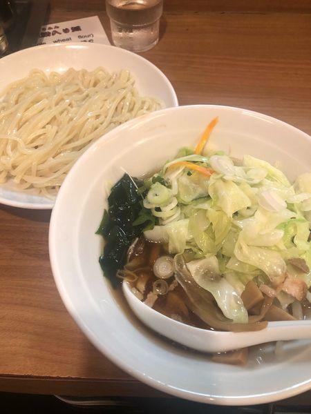 「野菜つけ麺」@風神 品川店の写真
