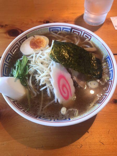 「特支那そば 正油 中太麺」@赤坂屋 高崎中居店の写真