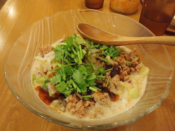 「冷やし担々麺」@鶏ポタラーメン THANK お茶の水の写真