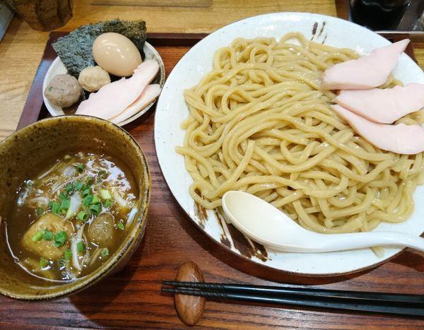 「特製つけ麺 大盛」@麺屋桜木の写真