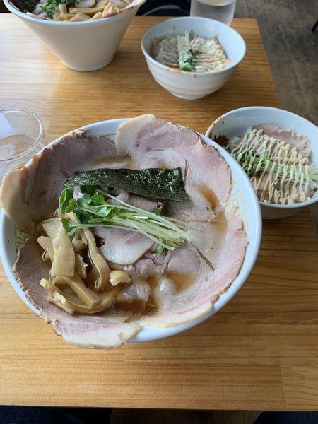 「チャーシュー麺」@麺屋 ゑびすの写真