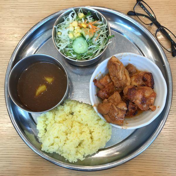 「チキンムガール(辛口)」@カレーの店 ガン爺の写真