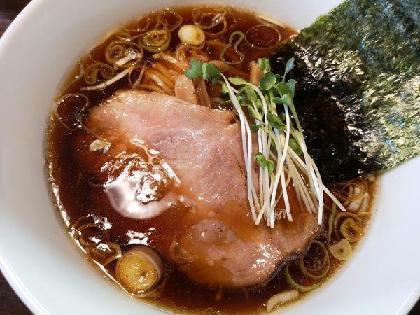 「醤油らーめん」@麺や まる喜の写真