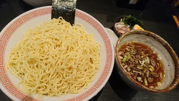 「つけ麺、具材、大盛」@ラーメン大至の写真