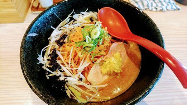 「【限定】冷やし味噌」@拉麺 大公の写真