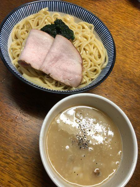 「【限定】豚骨アサリつけ麺」@良温(Ra-on)の写真