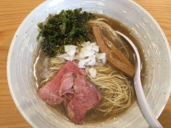 「らぁ麺(煮干)」@麺屋 さくら井の写真