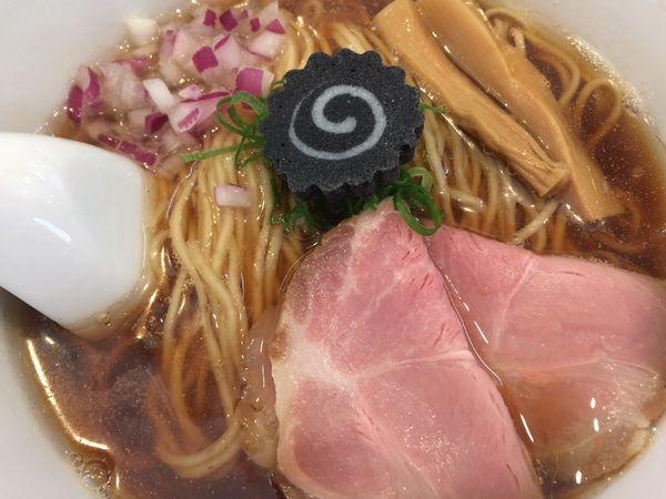 「のどぐろそば¥1000」@らぁ麺 はやし田 横浜店の写真
