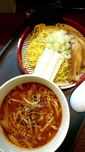 「雷つけ麺   (一番雷) 900円」@風っ子大将の写真