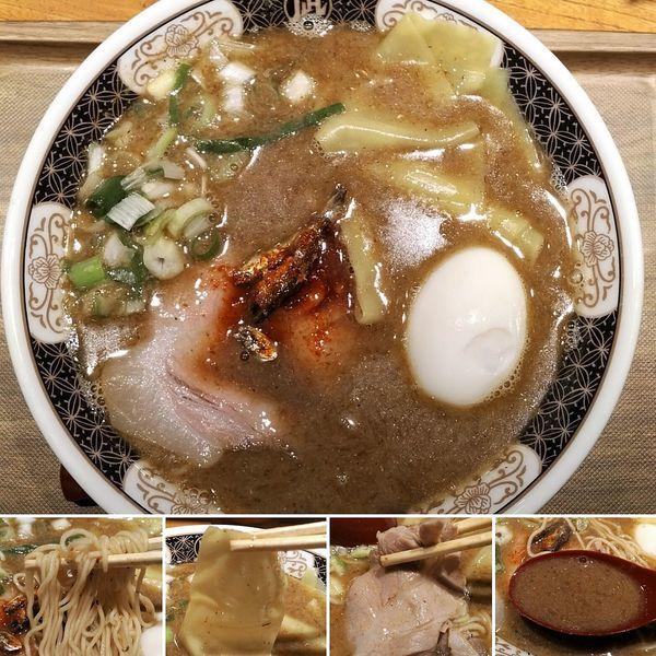 「すごい!煮干ラーメン(細麺)+味玉=1010円」@ラーメン凪 浅草店の写真