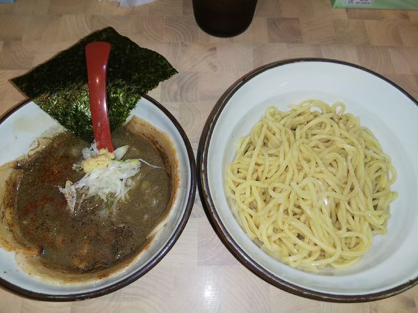 「つけ麺(¥850)」@にぼしらーめん88の写真