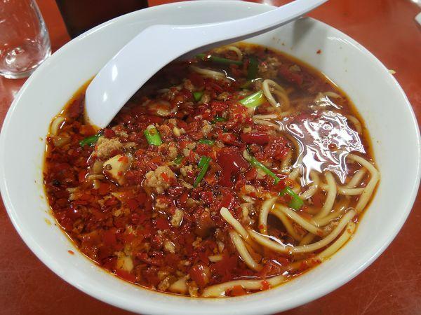 「台湾ラーメン(台湾坦仔麺)」@中国南北酒菜 味仙 矢場店の写真