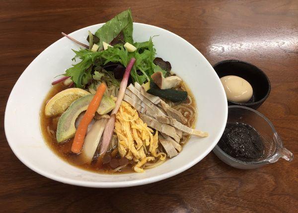 「【冷やしらぁめんシリーズ第3弾】冷やし中華」@4代目松屋食堂の写真