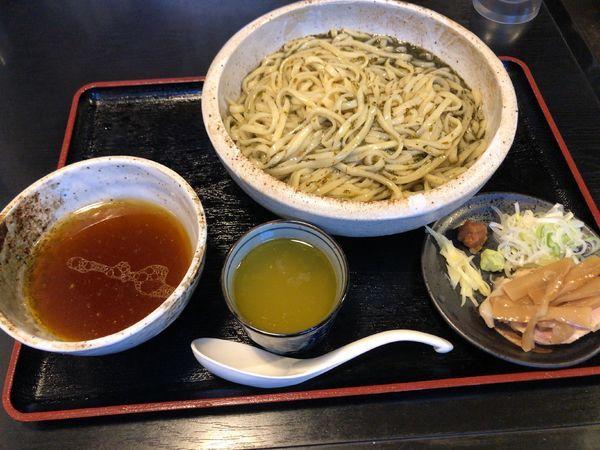 「ぎばさつけ麺」@秋田ラーメン はまの写真