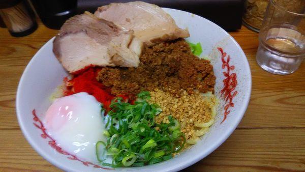 「特製汁なし担々麺」@自家製麺 てんかの写真
