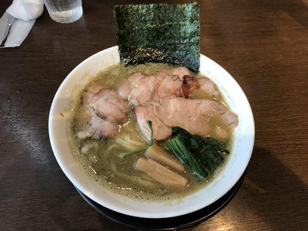 「IEK 【煮干味濃い目】」@麺創 なな家の写真