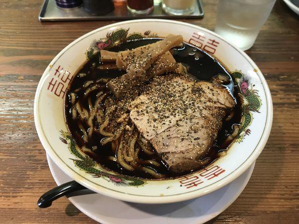 「東中野ブラック」@麺屋 山岸の写真
