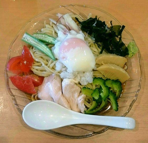「冷やし中華蕎麦【夏季限定】」@中華蕎麦 はるの写真