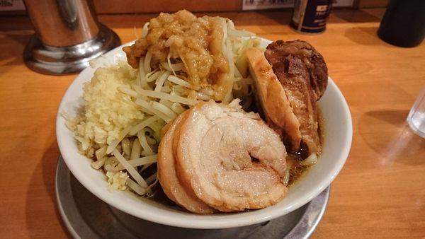 「大豚ラーメン」@麺屋穴場の写真