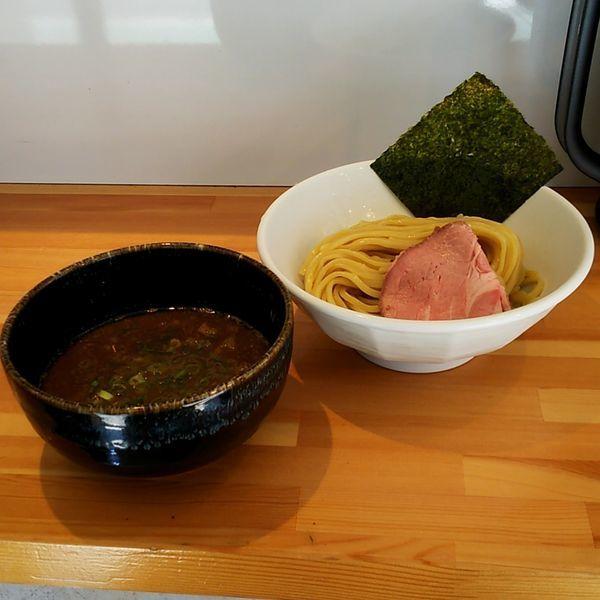 「濃厚つけ麺(大盛)」@麺処しろの写真