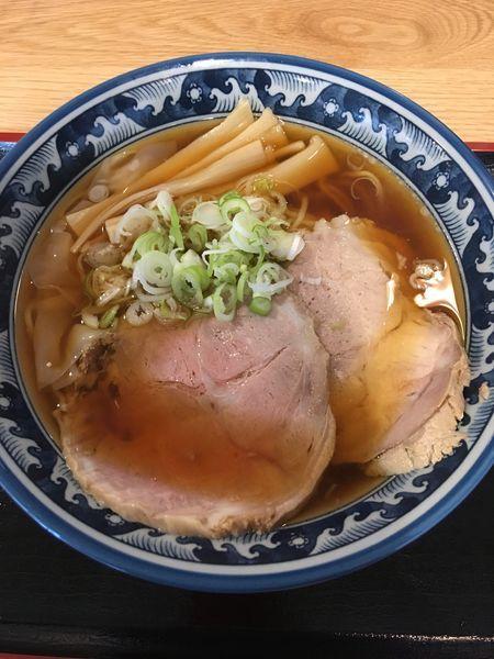 「しょうゆラーメン(酒田ラーメン)」@ラーメン尾浦 八王子店の写真