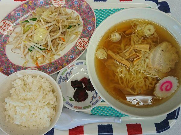 「野菜炒めセット ¥750」@つどい亭の写真