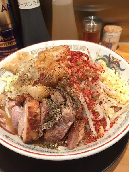 「ミニラーメン」@ラーメン豚山 東長崎店の写真