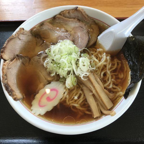「チャーシュー麺(¥750)」@中華そば金ちゃん 寒河江店の写真