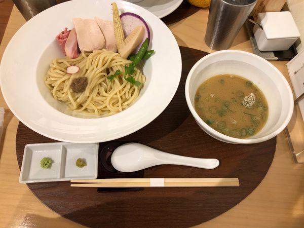 「鶏白湯つけSoba」@銀座 篝 鎌倉店の写真