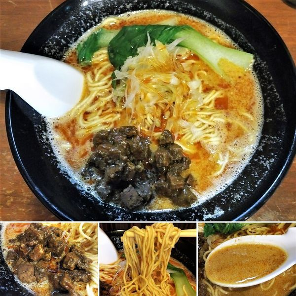 「担々麺(夜限定)  900円」@らーめん 喜粋 入谷店の写真