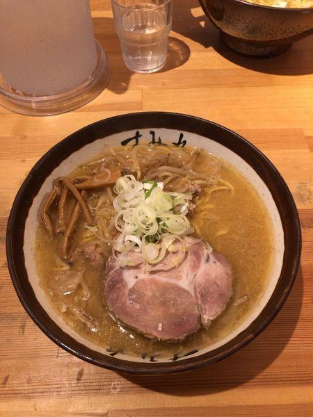 「味噌ラーメン!」@すみれ 札幌中の島本店の写真