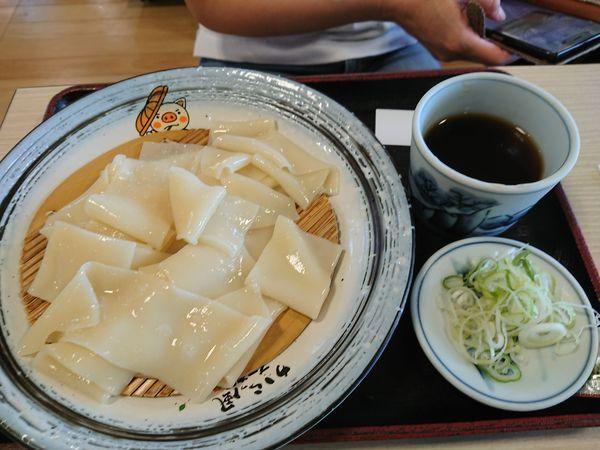「ひもかわうどん 650円」@赤城高原SA(下り)の写真