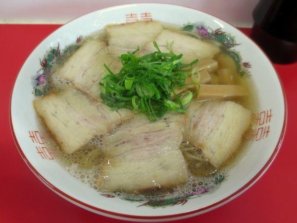 「チャーシュー麺 900円」@中華そば 竹千代の写真