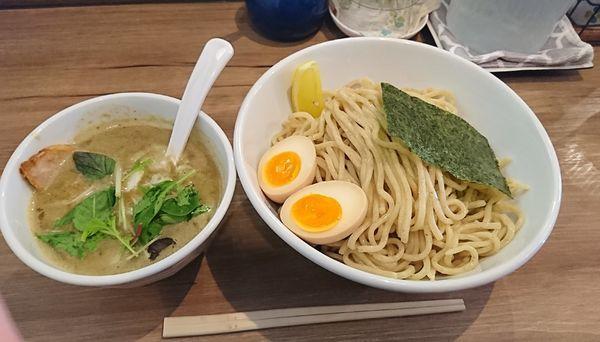 「味玉つけ麺 (塩) 大盛」@38 NOODLE KITCHENの写真