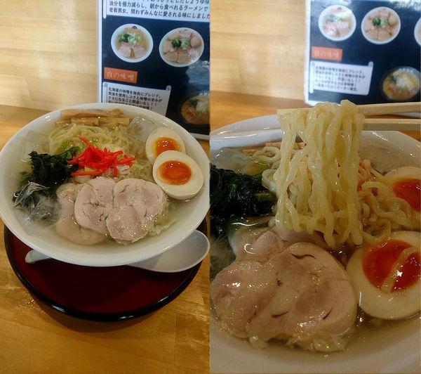 「『冷やしラーメン 醤油+大盛(¥800+100)』」@伊藤商店 足利店の写真
