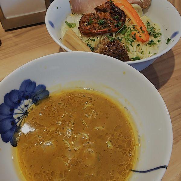 「【限定】渡り蟹のビスクつけ麺」@Niiの写真