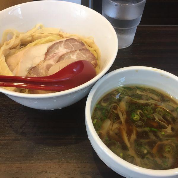 「特製つけ麺  アイスサービス」@麺屋かなでの写真