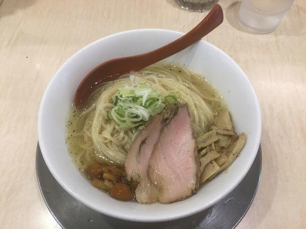 「【季節限定】冷やがけ中華・塩(¥870)」@食堂 七彩の写真
