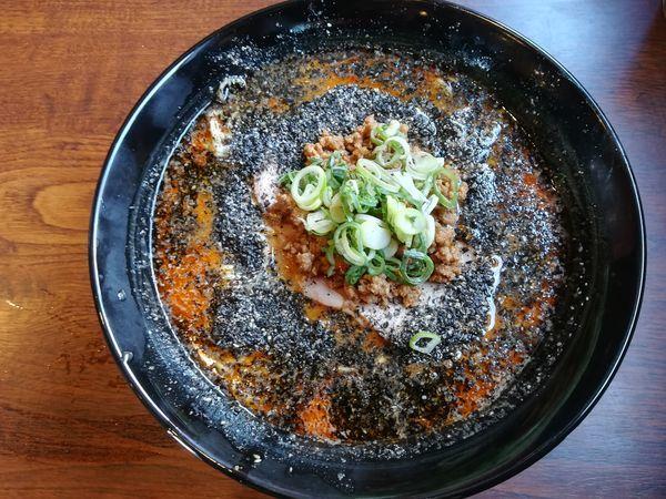 「渚の担々麺(大盛)」@麺屋 あさのの写真