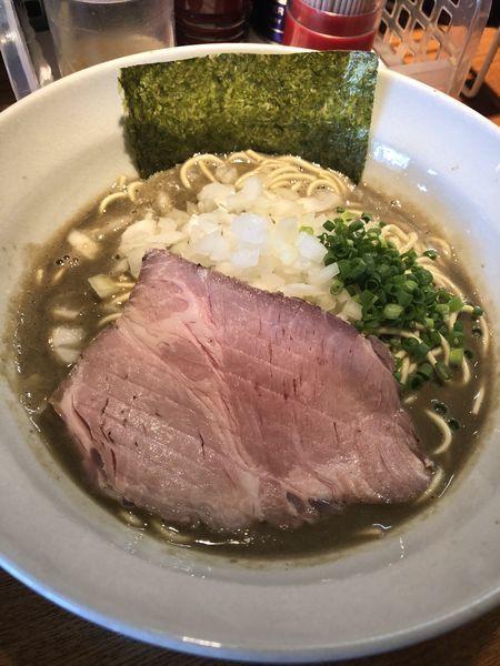 「煮干そば『極』850円」@麺屋 烈の写真